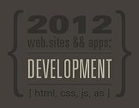 2012 development