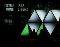 Stage Design & VJ for STFU Europe