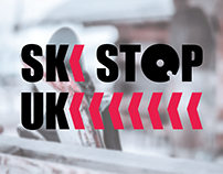 Ski Stop UK: Logo design for Ski Stop UK
