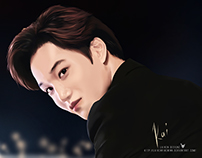 Exo's Kim Jogin (Kai) Fan Art