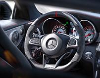 Benz c63s coupe -CGI Photography