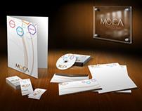 Moca Advertising Stationary Set