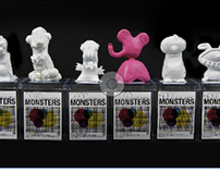 GOGO MONSTERS - Product design