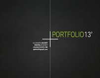 Portfolio_1st semester of 2013
