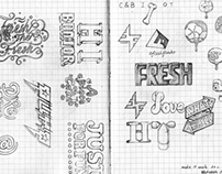 Some typographical sketch