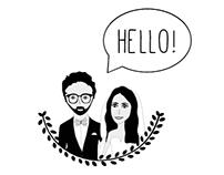 V&A Wedding İnvitation