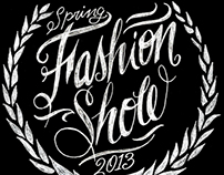 Nashville Symphony Fashion Show 2013 - Invitation Art