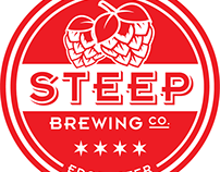 Steep Brewing Co. Logo Design