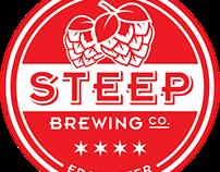 Steep Brewing Co. Logo Design