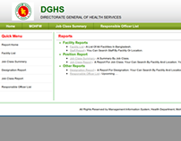 HRM Application for MIS, DGHealth, Bangladesh