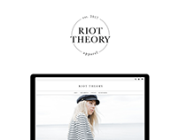 Riot Theory - Logo + Shopify Website