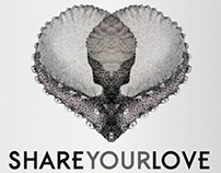 "Artwork for Tareq's single ""Share your love"""