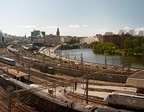 Barnhusbron - central Stockholm view