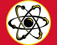 """T-shirt designs for """"Big Bang Theory""""."""