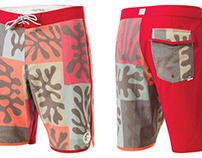 Prints for O'Neill Boardshorts