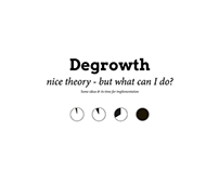 Daily Degrowth