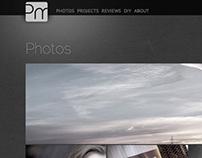 PojeMario.com redesign