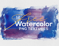 12 Free Abstract Watercolor Textures