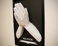 Prayer – Wall Mounted Papercraft