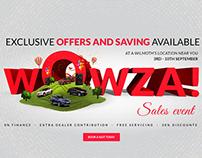 Wilmoths Sales Event - Digital Campaign