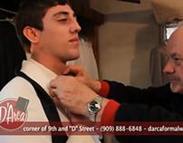 D'Arca Formal Wear TV Spot