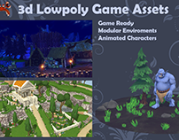 3d Lowpoly Game Assets