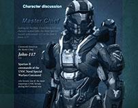 HALO Magazine Design