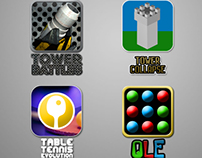 Mobile Game Icons 2012