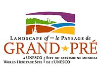 Landscape of Grand-Pré Logo