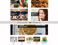 MPS Bazzar Online grocery store UI/UX Design Magento