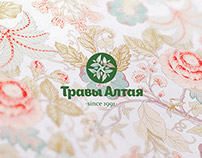 Брендинг торговой марки Травы Алтая