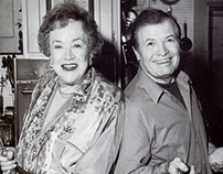 Julia Child+Jacques Pepin for Gourmet/ her last shoot