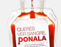 QR Donation - Banco Nacional de Sangre (Costa Rica)