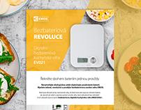 Product Description for EMOS, www.alza.cz