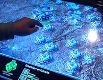 Starcraft2 & Diablo 3 Touch Screen Sony Bravia