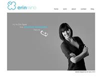 Portfolio Site - erinleighraine.com