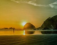 Sunset, Playa Totoritas