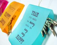 New Year's Decoration Typographic Quotes