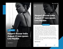 News APP User Interface
