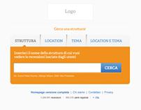Web Site Mockup (2012)