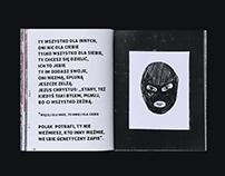 Płonie ciało jak Warszawa - Book Design