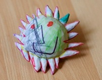 Crayon Creatures - Figurines from Children's Drawings
