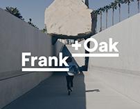 Frank + Oak Responsive Redesign