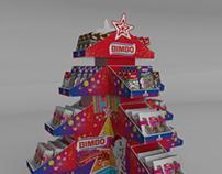 Exhibidor Navidad