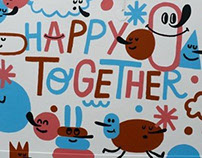 Happy Together headquarter murals