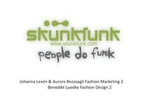 "SKUNKFUNK ""Keep it green our time is limited"""