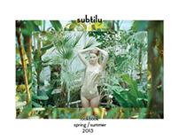 Subtilu spring/summer 2013 lookbook