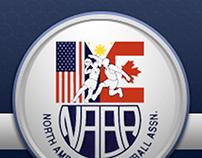 North America Basketball Association Website redesign