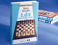 Bookcover design for Grandmaster Repertoire series