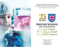 Anuncio para British School of Valencia